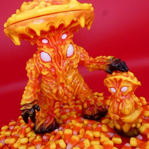 Candy Corn Fungoid Man