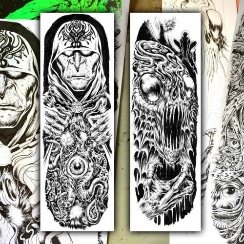 Creature Skateboard Graphics