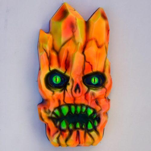 Giant Crystal Head Mask