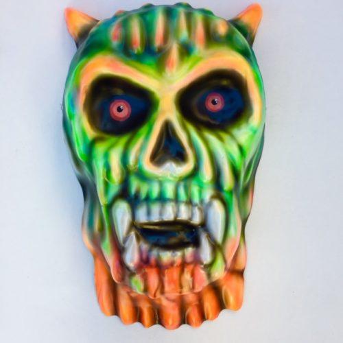 Giant Melted Skull Mask