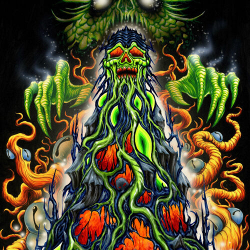 High on Fire Beer Label