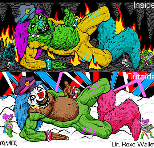 Metalocalypse Dr. Rockso Wallet for Adult Swim
