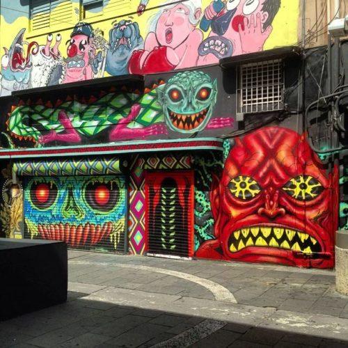 Mondo Bizarro Mural Puerto Rico