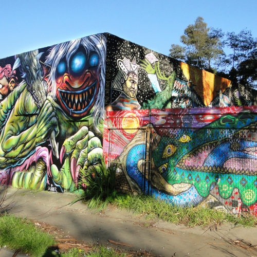 Monster Mural Oakland