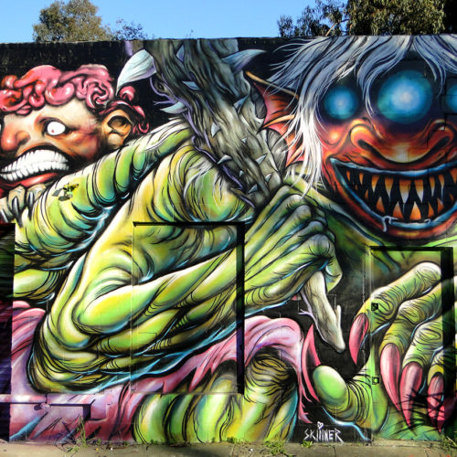 Monster Mural i Oakland