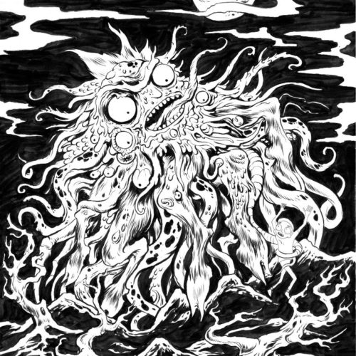 Rick and Morty Dunwich Horror for Adult Swim