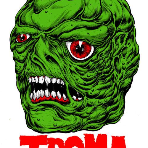 Troma Toxie Head