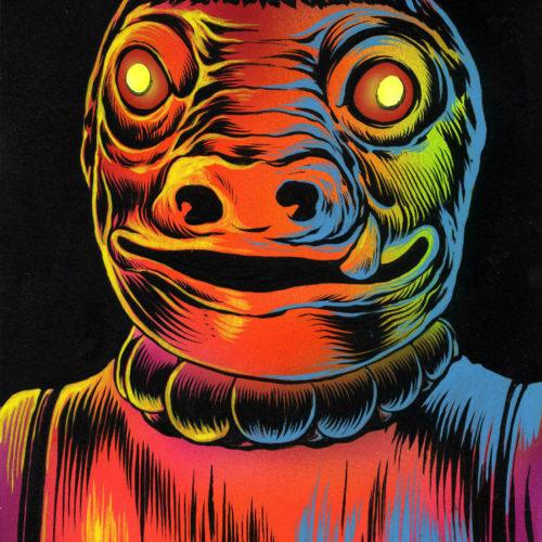 Weird Pig Man