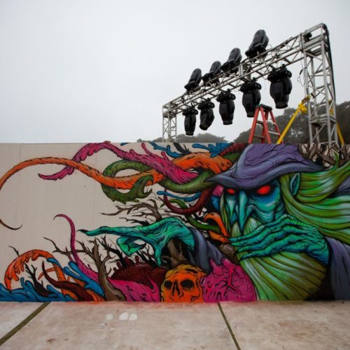 Wizard Mural Outsidelands