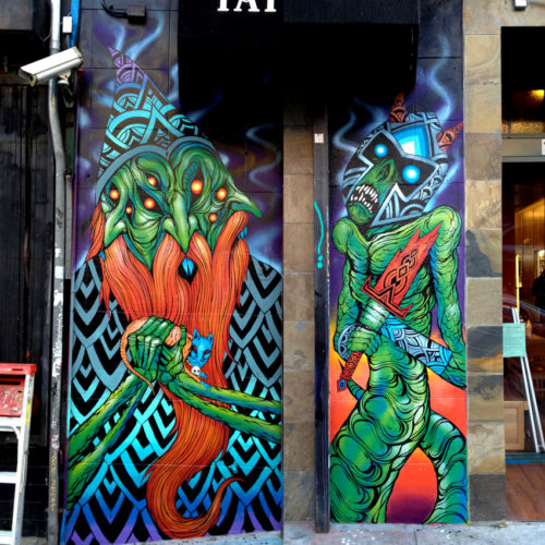 Wizard and Reptile on Haight Street