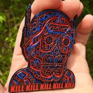 deadly cyborg pin