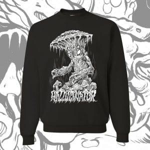HallucinatorB WCrewneck x